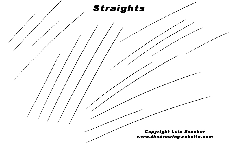 Straight Line Drawing Easy : How drawing can be as easy for you writing the a b