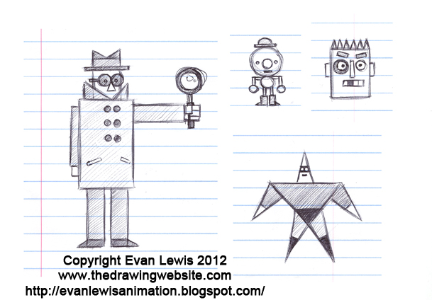 Cartoon Characters Using Shapes : How to draw simple cartoon people image search results