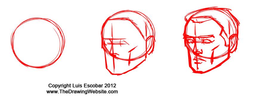 Loomis heads shorthand