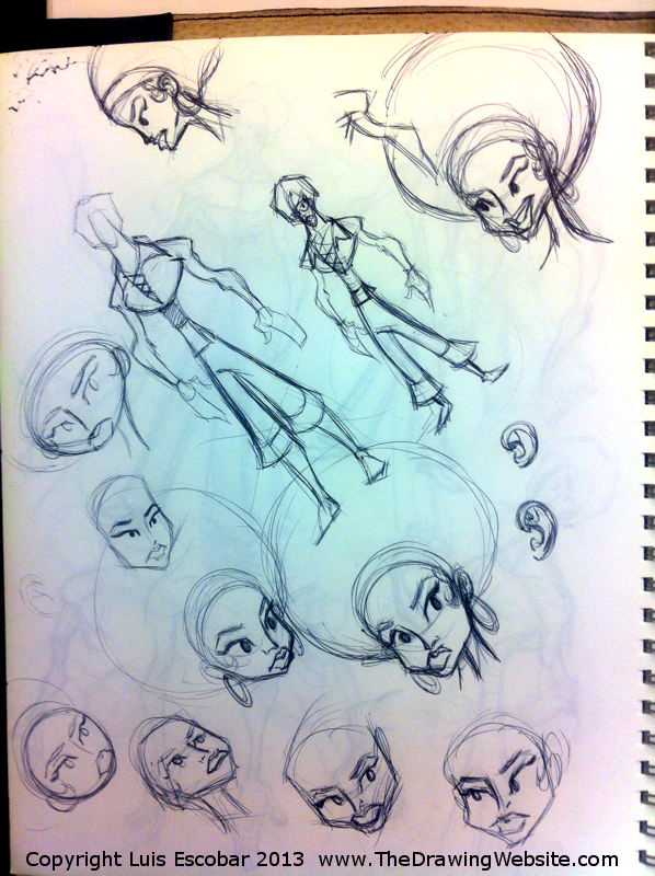 Draw Fu Comic Designs 02