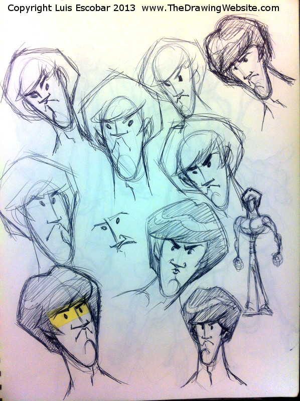 Draw Fu Comic Designs 03