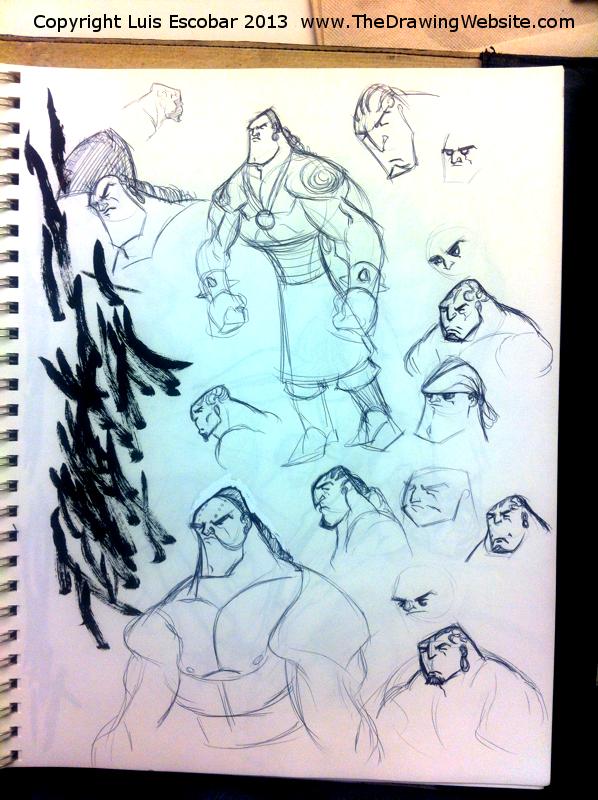 Draw Fu Comic Designs 04