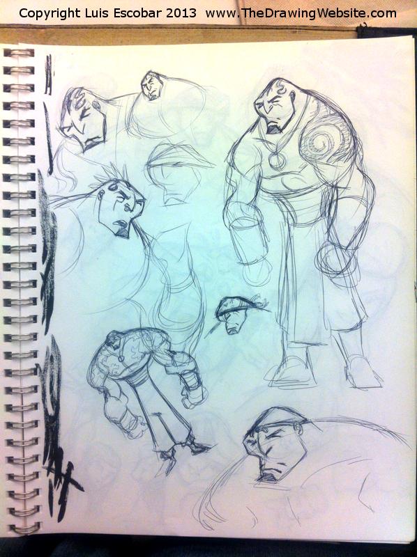 Draw Fu Comic Designs 05