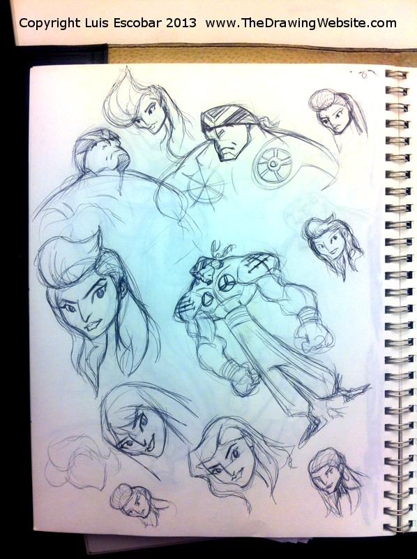 Draw Fu Comic Designs 07
