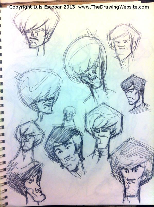 Draw Fu Comic Designs 08