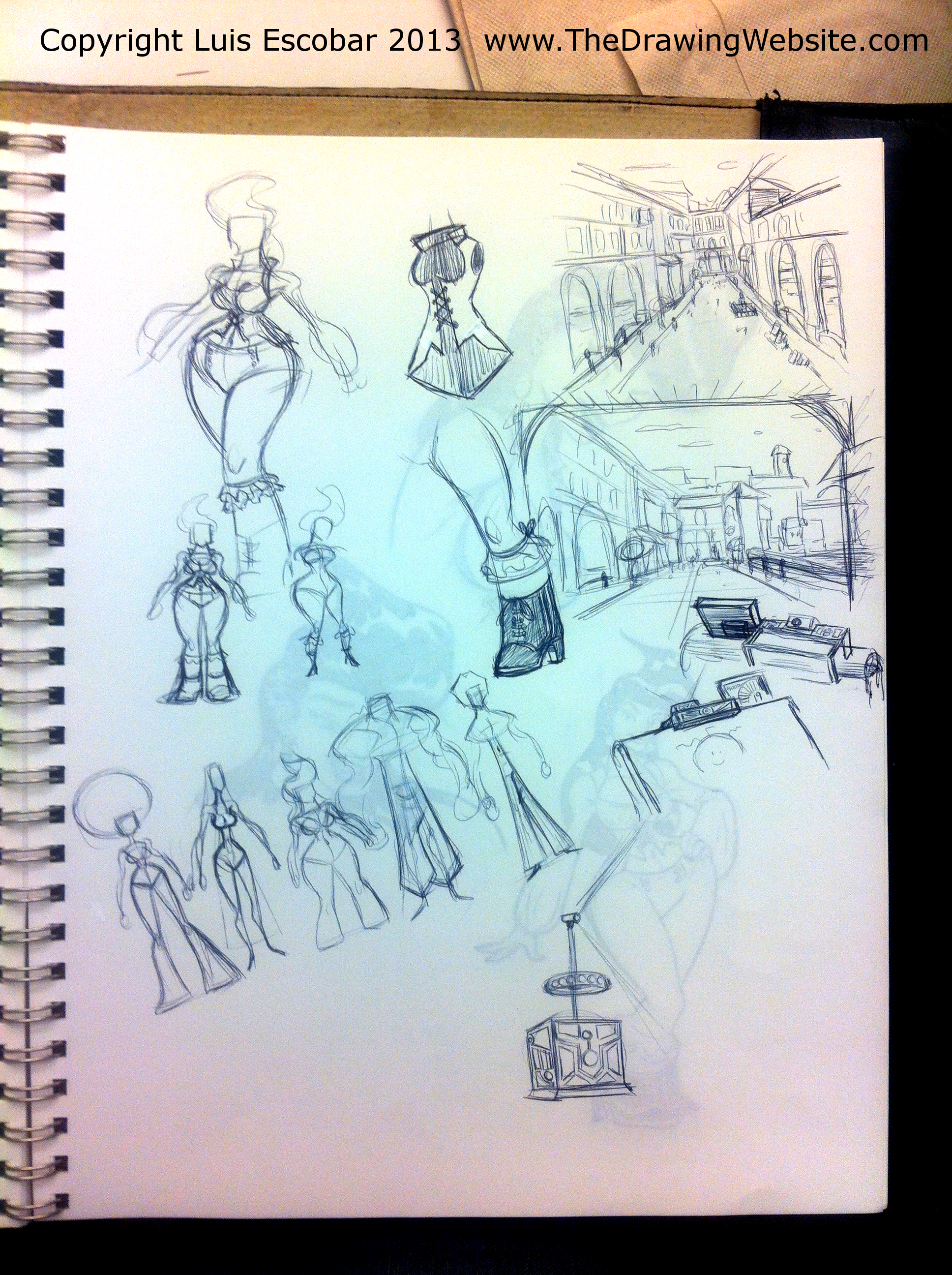 Draw Fu Comic Designs 10