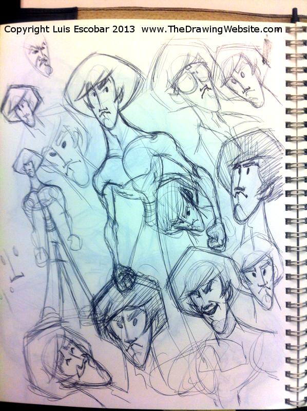 Draw Fu Comic Designs 12