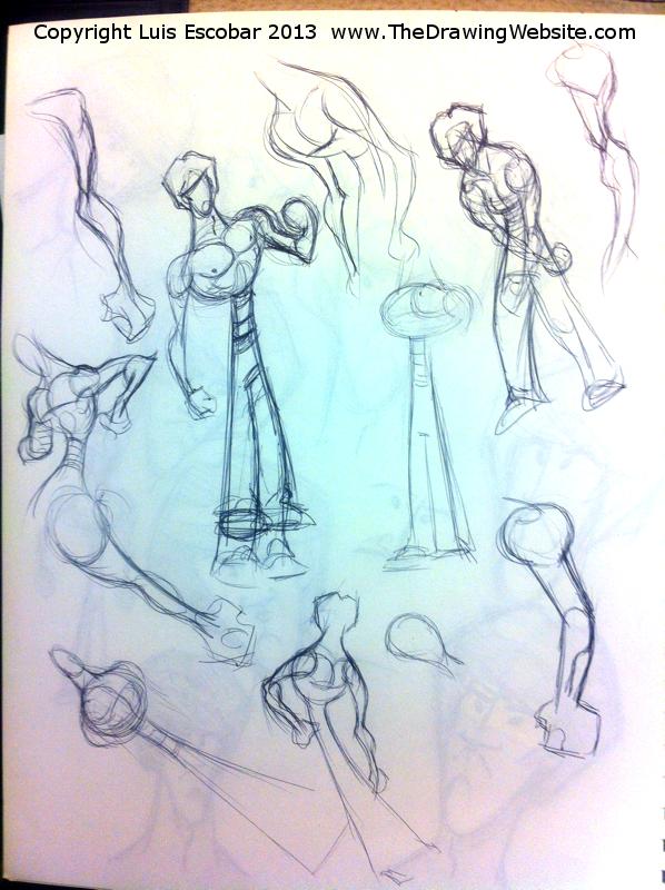 Draw Fu Comic Designs 13