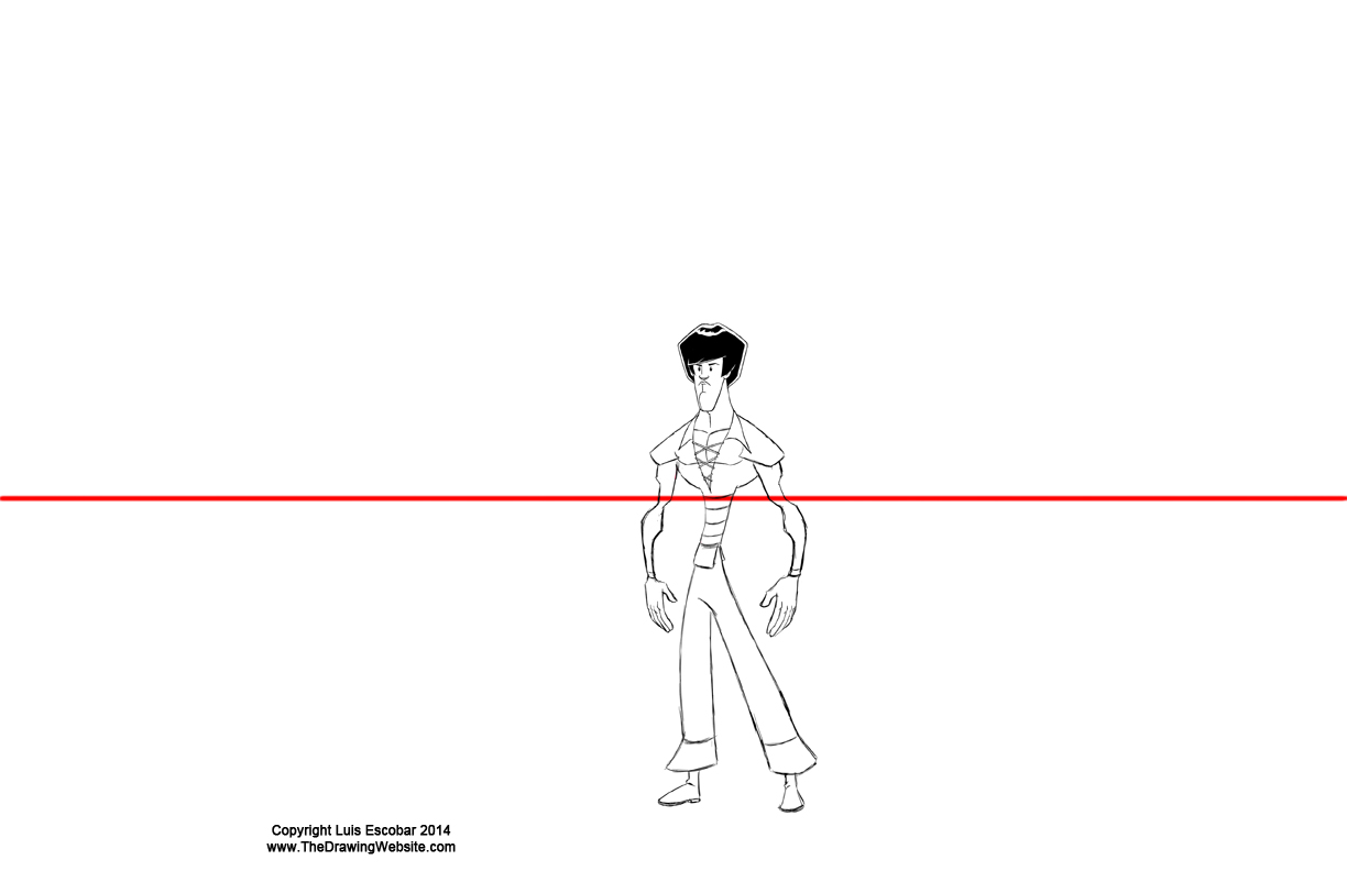 Drawing Using Horizon Lines : Draw fu perspective secrets basic principles the