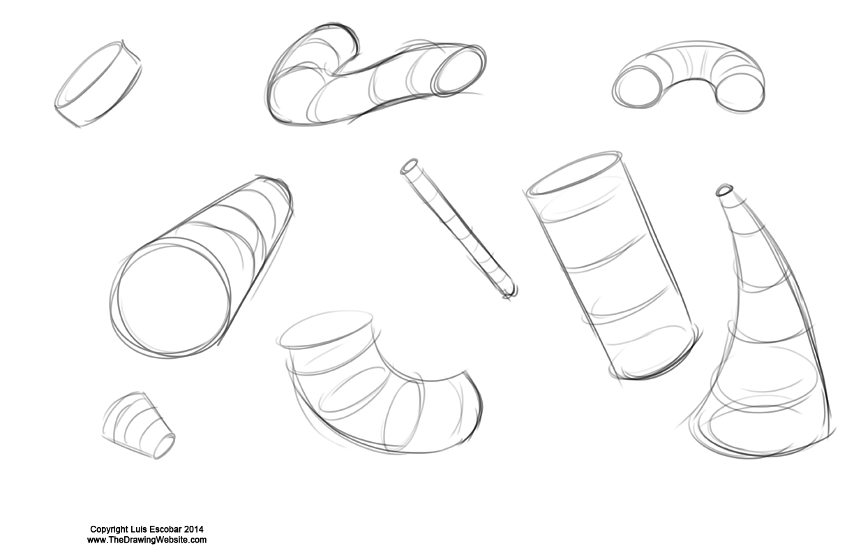 Scribble Drawing Objects : Organic shape drawings pixshark images