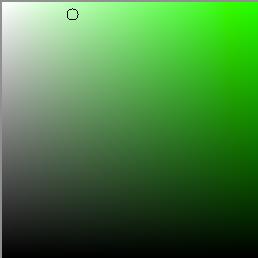 Color Saturation inside