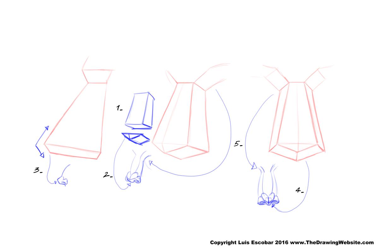 nose formula Explanation